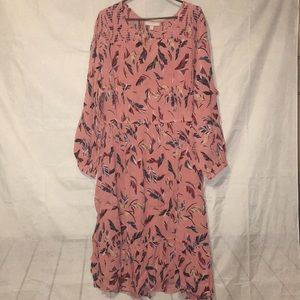 Woman Within Summer Crinkle Dress Size 26W NWT